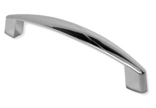 Ручка скоба 128мм. Хром полированный RS1704CР