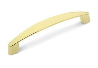 Ручка скоба 128мм. Золото полированное RS1704GР