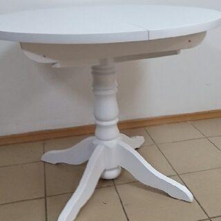 Стол обеденный круглый раздвижной D=90/125