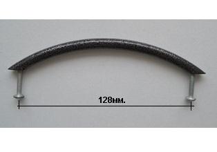 Ручка скоба Эмаль пёстрая 128мм.