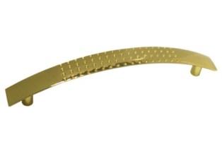 Ручка скоба 128мм. Золото полированное RS002GP