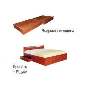 """Кровать """"Мелисса"""", Ящики для белья"""