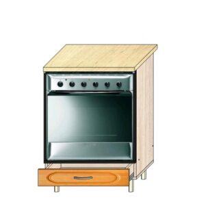 Кухонный стол под технику МДФ 60см.
