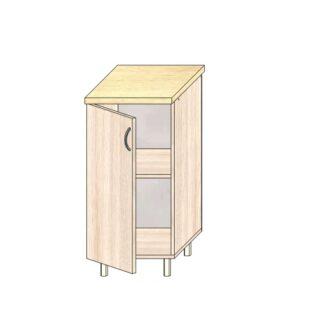 ТР 3.3 400, Кухонный стол 40см. С дверью
