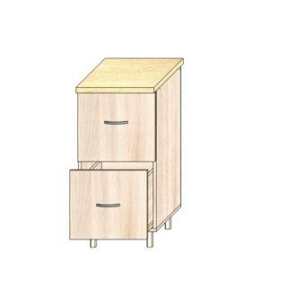 Кухонный стол 40см. 2 ящика