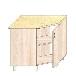 Кухонный стол угловой 90х90см.