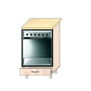 ТР 4.2 под техн 500, Кухонный стол под технику 50см.