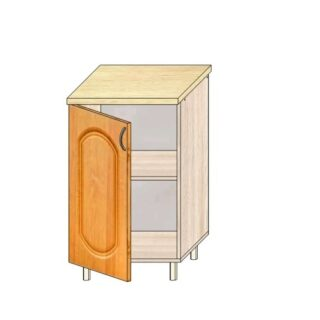 Кухонный стол МДФ 50см. С дверью
