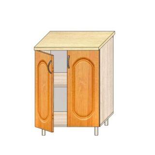 Кухонный стол МДФ 60см. С дверьми