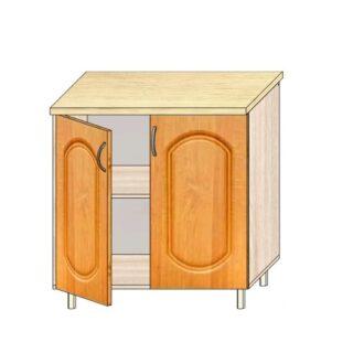 Кухонный стол МДФ 80см. С дверьми