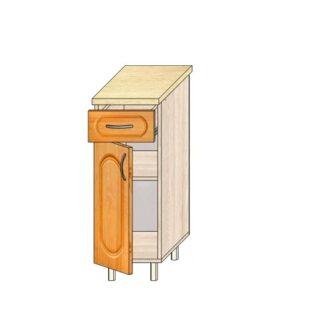 Кухонный стол МДФ 30см. С дверью и ящиком