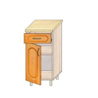 Кухонный стол МДФ 40см. С дверью и ящиком