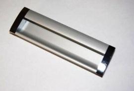 Ручка врезная 128мм. Алюминий RS3262AL