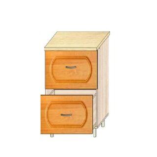 Кухонный стол МДФ 50см. 2 ящика