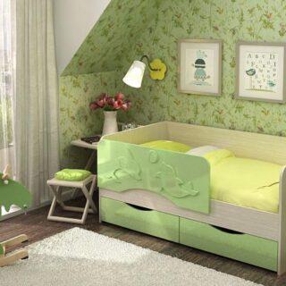 Детская кровать Дельфин (80х160 см)