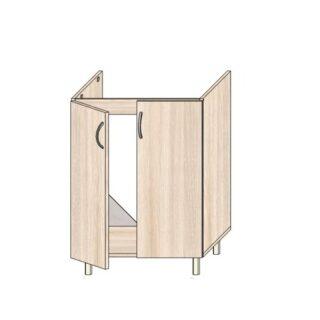 ТР 3.2 600, Кухонный стол под мойку 60см.