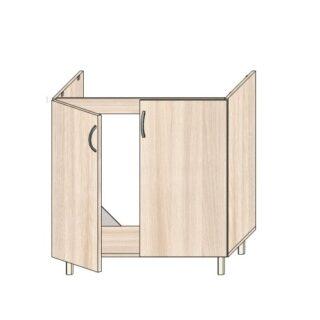 Кухонный стол под мойку 80см.