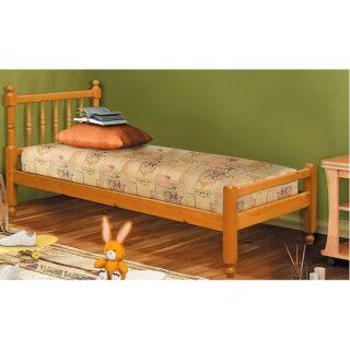 """Кровать-10 двойная с фигурными спинками из массива """"Фант"""""""
