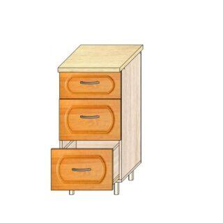 Кухонный стол  МДФ 40см. 3 ящика