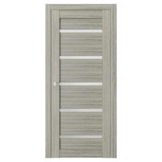 Полотно дверное остеклённое Q55