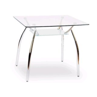 """Стол хром-стекло """"Олимп"""", 1200х700"""
