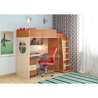 """Детская кровать-чердак """"Легенда 4.2"""""""