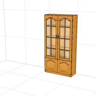 """""""Вилия-М"""" Шкаф 2-х дверн. 4 С"""