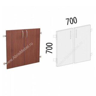 Рубин. Стеллаж 700х370х1860 Двери на 2 секции