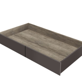 """""""MALCOLM"""" Кровать LOZ90, ящик для постельных принадлежностей 71,5х18х160,5см."""
